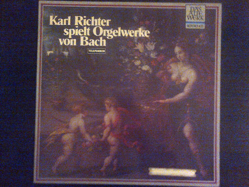 disco vinilo karl richter spielt orgelwerke