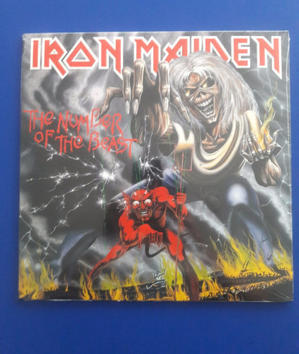 disco vinilo lp iron maiden number of the beast ed usa