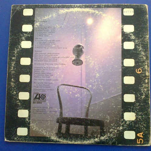 disco vinilo lp yes -  the yes album edicion usa 1971