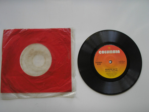 disco vinilo marvin gaye sexual healing 45rpm prin usa 1982