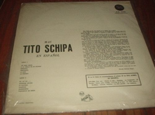 disco vinilo mas tito schipa en español