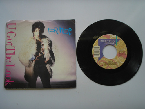 disco vinilo prince u got the look 45rpm printed usa 1987
