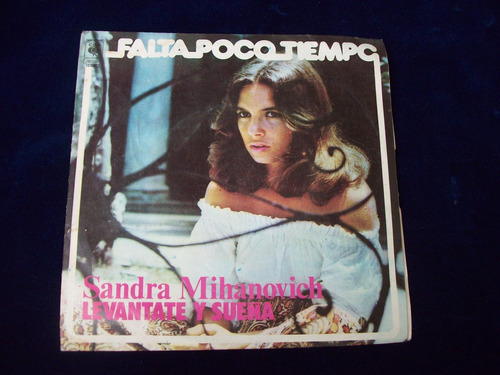 disco vinilo simple de sandra mihanovich