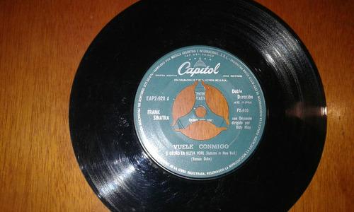 disco vinilo simple frank sinatra