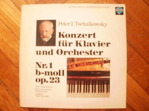 disco vinilo tchaikowsky- konzert fur klavier und orchester