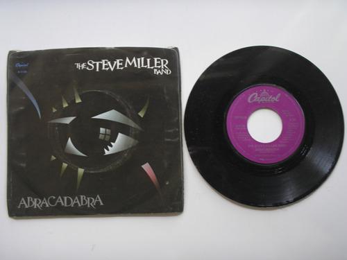 disco vinilo the steve miller band abracadabra 45rpm usa1981