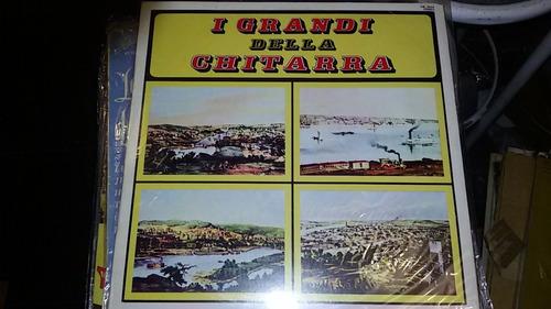disco vinilo varios i grandi della chitarra vg  ¬ la plata