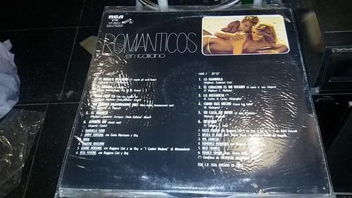 disco vinilo varios romanticos en italiano 1982 ¬ la plata