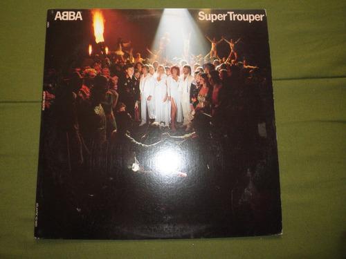 disco vinyl 12'' importado de abba - super trouper (1980)