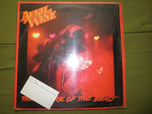 disco vinyl de april wine - the nature of the beast (1981)