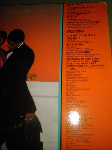 disco vinyl importad debbie jacobs - undercover lover (1979)