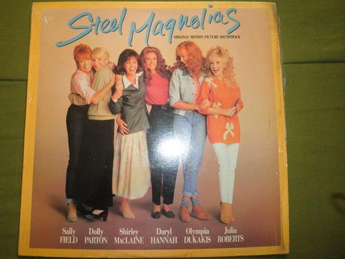 disco vinyl importad george delerue - steel magnolias (1989)