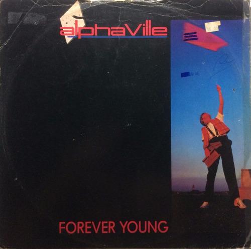 disco vinyl importado: alphaville y lou reed - remix