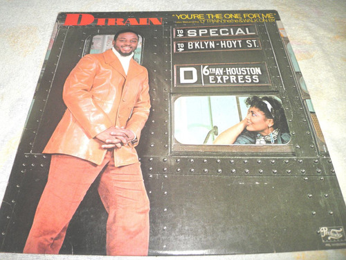 disco vinyl importado d train - you're the one for me (1982)
