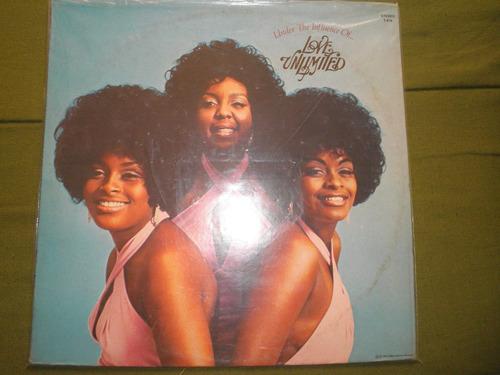 disco vinyl importado de barry white y love unlimited (1974)
