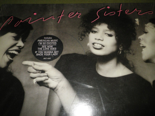 disco vinyl importado pointer sisters - so excited! (1982)