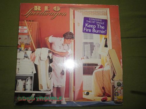 disco vinyl importado reo speedwagon - good trouble (1982)