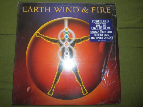 disco vinyl importd earth, wind and fire - powerlight (1983)