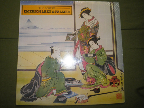 disco vinyl imptd emerson lake & palmer - the best of (1980)