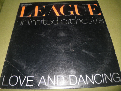 disco vinyl imptd the human league - love and dancing (1982)