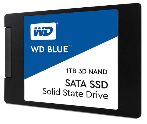 disco wd western digital ssd 1 tb blue  ssd wds100t2b0a