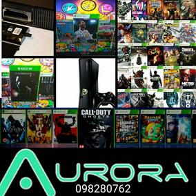 Disco Xbox 360 Rgh 1000 500 Gb Juegos De Regalo
