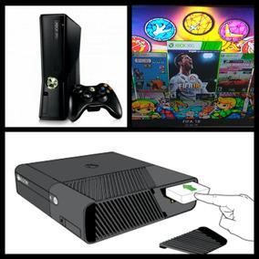 Disco Xbox 360 Rgh 250 Gb 10000 Juegos Garantia