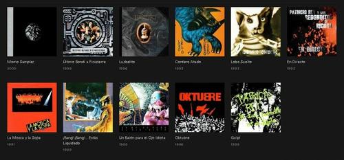 discografia completa los redondos 11 cds originales