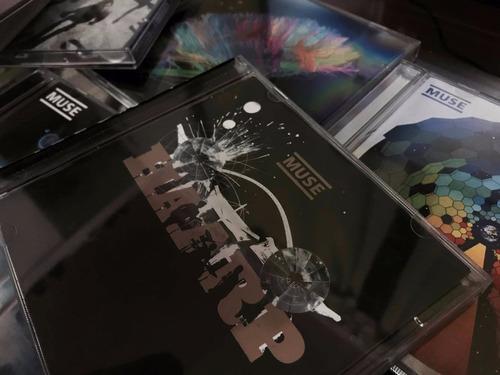 discografia muse - 7 cd's e 2 dvd's