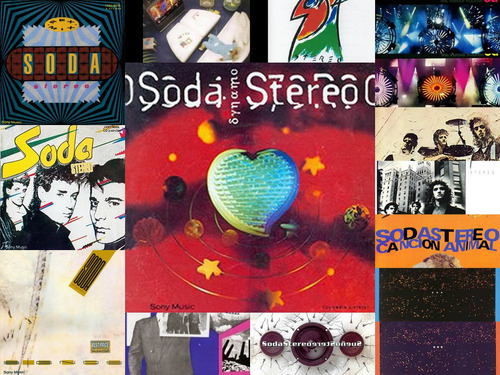 discografia soda stereo 15 cds + 2 dvds open music