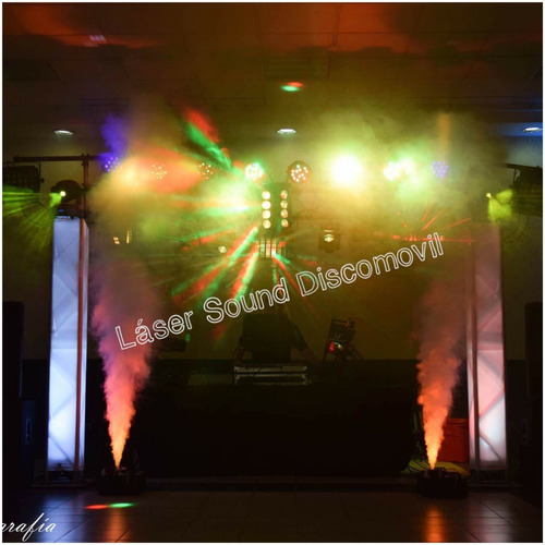 discomovil laser sound #lamejor , luz de neon y mas