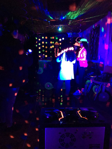 discopeque candy bar fiesta fluor dj  animacion cumpelaños