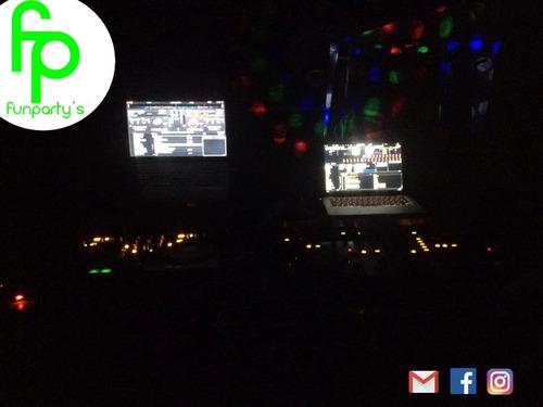 discopeque dj  animador cumpleaños fiesta  flúor karaoke