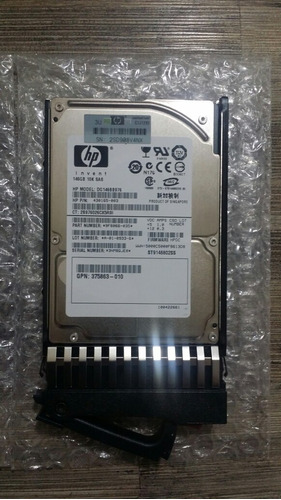 discos 146gb 10k rpm sas 2.5 + candi gpn 375863-010