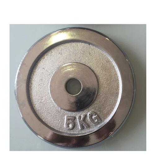 discos 5 kg mancuernas barras gimnasios agujero 1 pulgada
