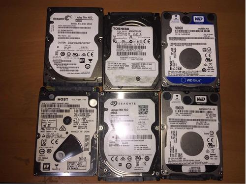 discos 500gb notebook con sectores dañados