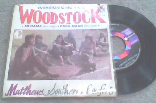 discos acetato chico de woodstock