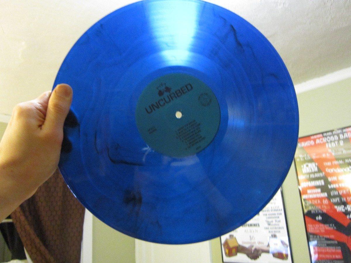 Discos acetato vinilos lps de colores negros decoracion - Decoracion con discos de vinilo ...