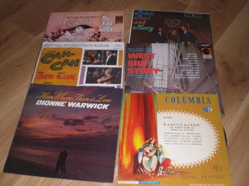 discos antiguos  long play 33 1/3