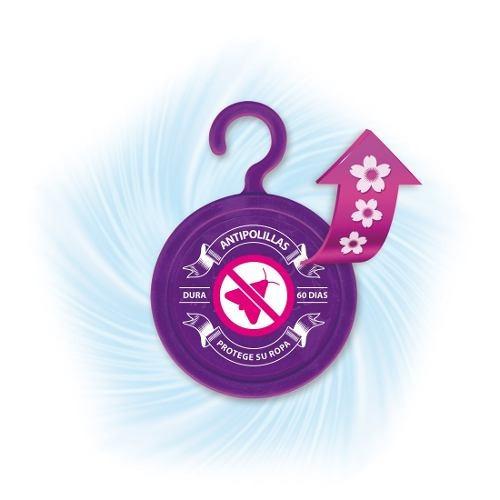 discos antipolilla lavanda iberia 15un protege ropa perfuma