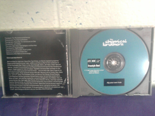 discos cd chemical brothers did you own hole rock nacional
