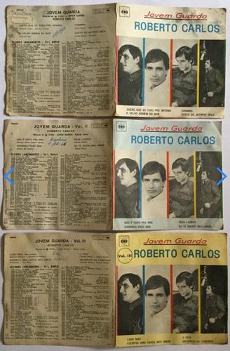 discos compacto duplo roberto carlos - jovem guarda 1,2,3