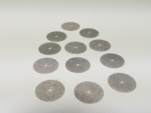 discos de acero horico ¾  sobre x 12 unidades novacekdental