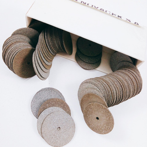 discos de carburum para separar pulir 3/4 novacekdental