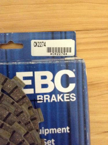 discos de clutch wr/yz 450 ebc