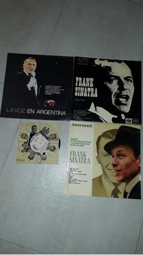 discos de frank sinatra - 3 lp y 1 simple - impecables