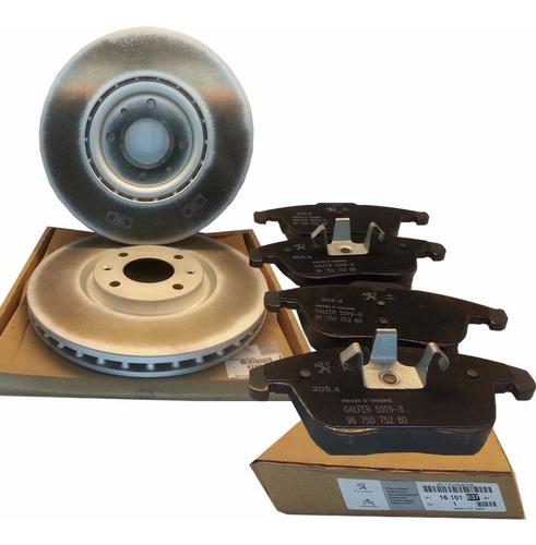 discos de freno del + pastillas original peugeot 208 xy 1.6