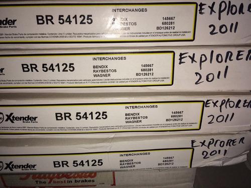 discos de freno explorer 2011-2013 delanteros .xtender