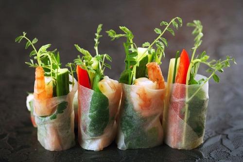 discos de papel arroz ideal p/comida thai y vietnamita! 22cm