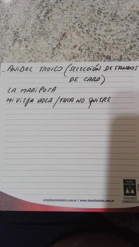 discos de pasta 78 rpm darienzo-anibal troilo- antonio tormo